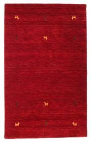 Gabbeh Loom Two Lines - Rood Vloerkleed 100X160 Modern Rood/Donkerrood (Wol, India)