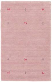 Gabbeh Loom Two Lines - Roze Vloerkleed 100X160 Modern Lichtroze (Wol, India)