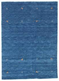 Gabbeh Loom Two Lines - Blauw Vloerkleed 160X230 Modern Donkerblauw/Blauw (Wol, India)