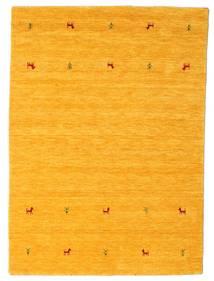 Gabbeh Loom Two Lines - Geel Vloerkleed 140X200 Modern Oranje (Wol, India)