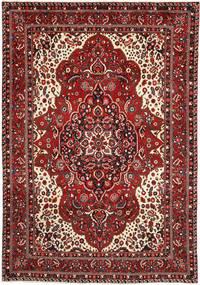 Bakhtiar Vloerkleed 217X314 Echt Oosters Handgeknoopt Donkerrood/Donkerbruin (Wol, Perzië/Iran)