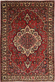 Bakhtiar Vloerkleed 215X330 Echt Oosters Handgeknoopt Donkerrood/Donkerbruin (Wol, Perzië/Iran)