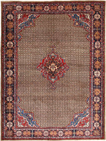 Koliai Vloerkleed 230X306 Echt Oosters Handgeknoopt Donkerbruin/Donkerrood (Wol, Perzië/Iran)