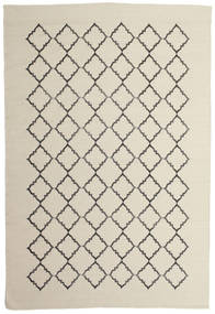 Marjorie - Gebroken Wit Vloerkleed 200X300 Echt Modern Handgeweven Donkerbeige/Lichtgrijs/Beige (Wol, India)