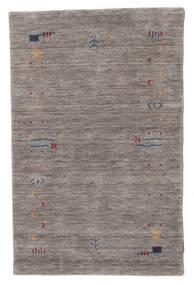 Gabbeh Loom Frame - Grijs Vloerkleed 100X160 Modern Donkergrijs/Lichtgrijs (Wol, India)