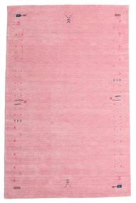 Gabbeh Loom Frame - Roze Vloerkleed 190X290 Modern Lichtroze/Roze (Wol, India)