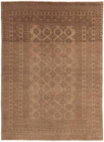 Afghan Vloerkleed 158X226 Echt Oosters Handgeknoopt Bruin (Wol, Afghanistan)