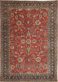 Sarough Patina Vloerkleed 236X347 Echt Oosters Handgeknoopt Donkerrood/Donkergrijs (Wol, Perzië/Iran)