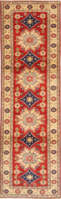 Kazak Vloerkleed 82X293 Echt Oosters Handgeknoopt Tapijtloper Lichtbruin/Roestkleur (Wol, Pakistan)