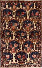 Bakhtiar Vloerkleed 148X235 Echt Oosters Handgeknoopt Donkergrijs/Donkerrood (Wol, Perzië/Iran)