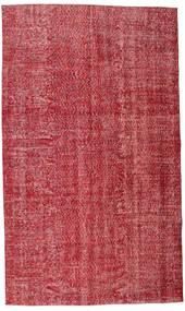 Colored Vintage Vloerkleed 165X279 Echt Modern Handgeknoopt Rood/Roestkleur (Wol, Turkije)
