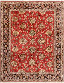 Bidjar Vloerkleed 312X402 Echt Oosters Handgeknoopt Roestkleur/Donkerbruin Groot (Wol/Zijde, Perzië/Iran)