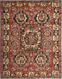 Bakhtiar Vloerkleed 263X336 Echt Oosters Handgeknoopt Donkerbruin/Donkerrood Groot (Wol, Perzië/Iran)