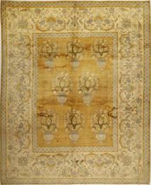 Kashmar Patina Vloerkleed 326X403 Echt Oosters Handgeknoopt Olijfgroen/Lichtbruin Groot (Wol, Perzië/Iran)