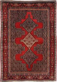Senneh Vloerkleed 122X177 Echt Oosters Handgeknoopt Donkerrood/Donkerbruin (Wol, Perzië/Iran)