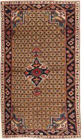 Koliai Patina Vloerkleed 100X183 Echt Oosters Handgeknoopt Donkerbruin/Lichtbruin (Wol, Perzië/Iran)