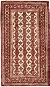 Turkaman Patina Vloerkleed 110X192 Echt Oosters Handgeknoopt Donkerrood/Beige (Wol, Perzië/Iran)
