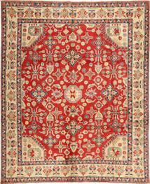 Kazak Vloerkleed 285X348 Echt Oosters Handgeknoopt Roestkleur/Donkerbeige Groot (Wol, Pakistan)