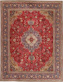 Tabriz Patina Vloerkleed 295X390 Echt Oosters Handgeknoopt Donkerbruin/Donkerrood Groot (Wol, Perzië/Iran)