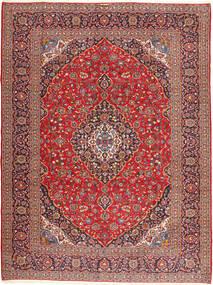 Keshan Signature : Kashan Emami Vloerkleed 303X406 Echt Oosters Handgeknoopt Donkerrood/Donkerbruin Groot (Wol, Perzië/Iran)