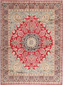 Kerman Vloerkleed 295X400 Echt Oosters Handgeknoopt Lichtbruin/Roestkleur Groot (Wol, Perzië/Iran)