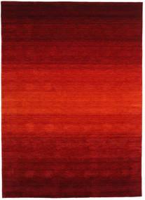 Gabbeh Rainbow - Rood Vloerkleed 210X290 Modern Donkerrood/Roestkleur (Wol, India)