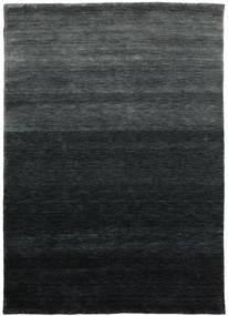 Gabbeh Up To Down Vloerkleed 160X230 Modern Zwart/Donkergroen (Wol, India)