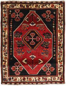 Ghashghai Vloerkleed 118X154 Echt Oosters Handgeknoopt Donkerrood/Donkerbruin (Wol, Perzië/Iran)