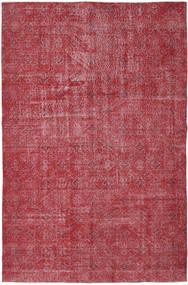 Colored Vintage Vloerkleed 186X287 Echt Modern Handgeknoopt Roestkleur/Rood/Donkerrood (Wol, Turkije)