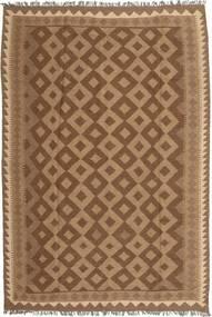 Kelim Vloerkleed 173X248 Echt Oosters Handgeweven Bruin/Lichtbruin (Wol, Perzië/Iran)