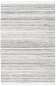 Diamond Wol - Grijs Vloerkleed 160X230 Echt Modern Handgeweven Lichtgrijs/Wit/Creme (Wol, India)