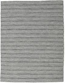 Kelim Long Stitch - Zwart/Grijs Vloerkleed 190X240 Echt Modern Handgeweven Lichtgrijs/Donkergrijs (Wol, India)