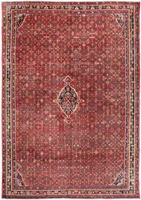 Hosseinabad Vloerkleed 310X445 Echt Oosters Handgeknoopt Donkerrood/Donkerbruin Groot (Wol, Perzië/Iran)