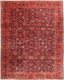 Nanadj Vloerkleed 333X418 Echt Oosters Handgeknoopt Donkerrood/Roestkleur Groot (Wol, Perzië/Iran)