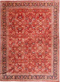 Nanadj Vloerkleed 320X432 Echt Oosters Handgeknoopt Roestkleur/Donkerrood Groot (Wol, Perzië/Iran)