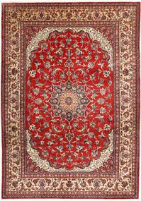 Najafabad Vloerkleed 266X390 Echt Oosters Handgeknoopt Donkerrood/Roestkleur Groot (Wol, Perzië/Iran)