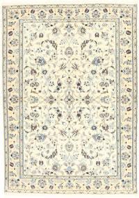 Nain 6La Vloerkleed 100X153 Echt Oosters Handgeknoopt Beige/Lichtgrijs (Wol/Zijde, Perzië/Iran)