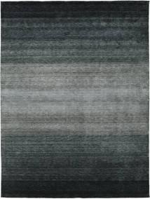 Gabbeh Rainbow - Grijs Vloerkleed 300X400 Modern Zwart/Donkergrijs/Groen Groot (Wol, India)