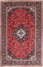 Keshan Patina Vloerkleed 188X295 Echt Oosters Handgeknoopt Donkerrood/Donkerpaars (Wol, Perzië/Iran)
