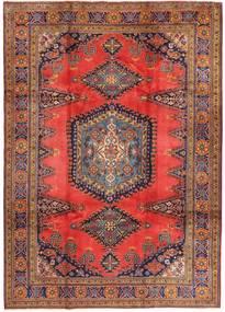 Wiss Vloerkleed 214X336 Echt Oosters Handgeknoopt Donkerrood/Bruin (Wol, Perzië/Iran)
