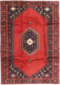Klardasht Vloerkleed 199X282 Echt Oosters Handgeknoopt Donkerrood/Zwart (Wol, Perzië/Iran)
