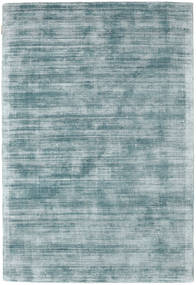 Tribeca - Blauw/Grijs Vloerkleed 140X200 Modern Lichtblauw/Donker Turkoois ( India)