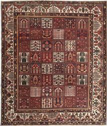 Bakhtiar Patina Vloerkleed 278X330 Echt Oosters Handgeknoopt Donkerrood/Bruin Groot (Wol, Perzië/Iran)