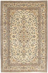 Keshan Patina Vloerkleed 195X298 Echt Oosters Handgeknoopt Beige/Lichtbruin (Wol, Perzië/Iran)