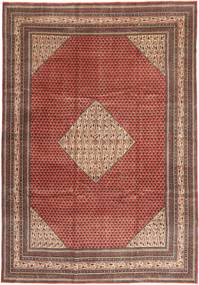 Sarough Patina Vloerkleed 255X360 Echt Oosters Handgeknoopt Donkerrood/Donkerbruin Groot (Wol, Perzië/Iran)