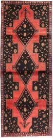 Kurdi Vloerkleed 110X298 Echt Oosters Handgeknoopt Tapijtloper Donkerbruin/Donkerrood (Wol, Perzië/Iran)