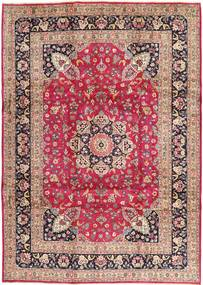 Kashmar Vloerkleed 246X343 Echt Oosters Handgeknoopt Lichtroze/Donkerrood (Wol, Perzië/Iran)