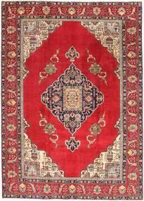 Tabriz Patina Vloerkleed 236X324 Echt Oosters Handgeknoopt Rood/Donkerrood (Wol, Perzië/Iran)