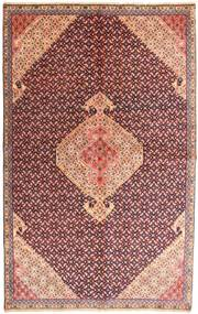 Ardebil Vloerkleed 150X239 Echt Oosters Handgeknoopt Donkerrood/Lichtroze (Wol, Perzië/Iran)