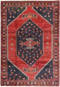 Klardasht Vloerkleed 200X295 Echt Oosters Handgeknoopt Donkerrood/Zwart (Wol, Perzië/Iran)